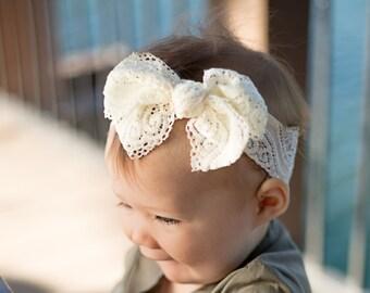 PICK 3 Baby HeadbandInfant headbandBaby Shower GiftNewborn Hair BowsBaby Head BowsBaby BowsBaby Girl BowNewborn HeadbandHeadbands
