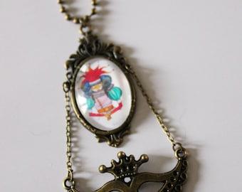 Bag charm Court Jester (jester)