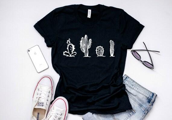 6b2bf4b5752 graphic tees for women cactus shirt plus size