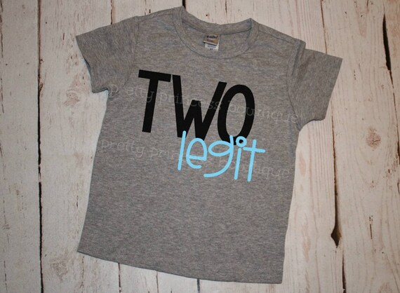 Birthday Shirt Boy 2nd Two Second