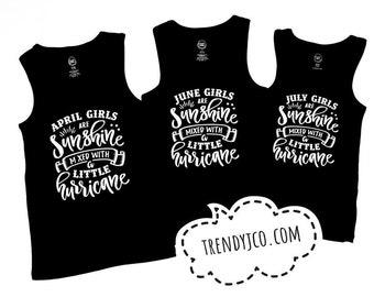 girls - tank top - kids - summer top - tshirt - personalized - graphic tee - shirt - toddler - sunshine
