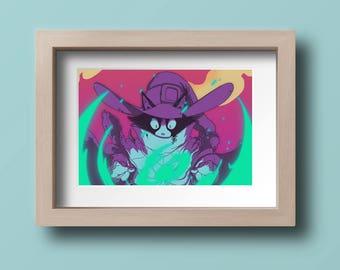 "Untested magik - 5x7"" art print"