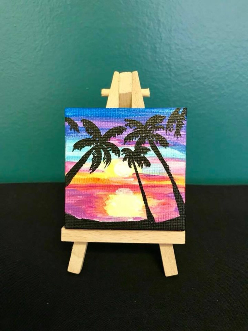 Mini Canvas Paintings