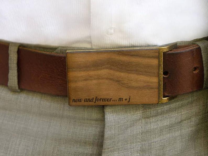 328a828d5a7 Cadeau danniversaire homme bois boucle de ceinture ceinture