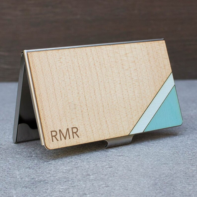 Kreditkartenetui Holz Kartenetui Visitenkartenetui Kartenhalter Kostenlose Gravur Kartenetui Kreditkarte Geldbörse Brieftasche Holz Geldbörse