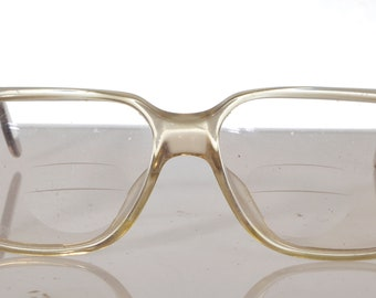 09458a1f37cd Vintage RODENSTOCK EXCLUSIV 336 C140, Crystal Brown Frame, Rx-Able Prescription  lenses . Rare Piece. Made in Germany