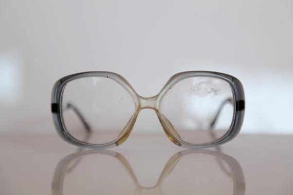 61f3763df60 Vintage OPTIK GMBH 247 B4 Eyewear Degrading Gray-Blue-Crystal