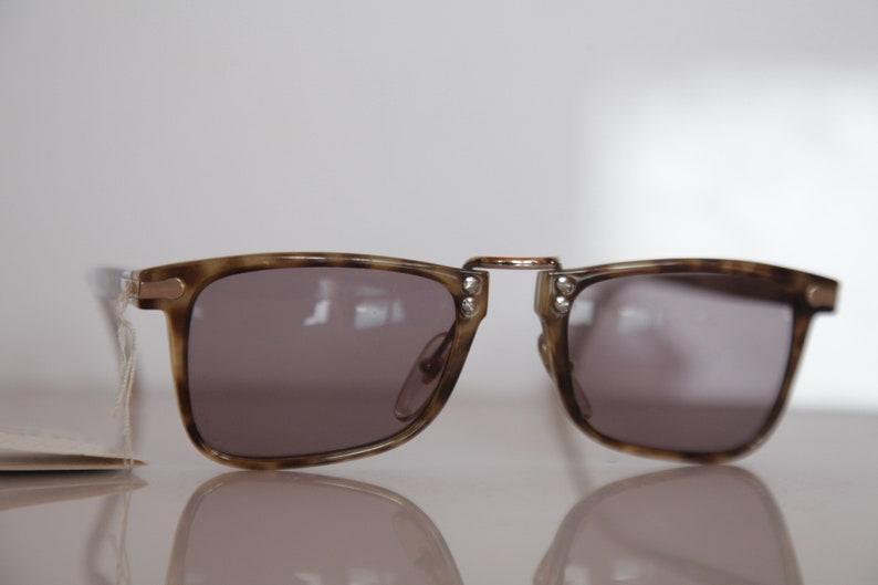 9b673472a8dcf Vintage HUGO BOSS CARRERA 5168 60 Sunglasses Crystal Olive