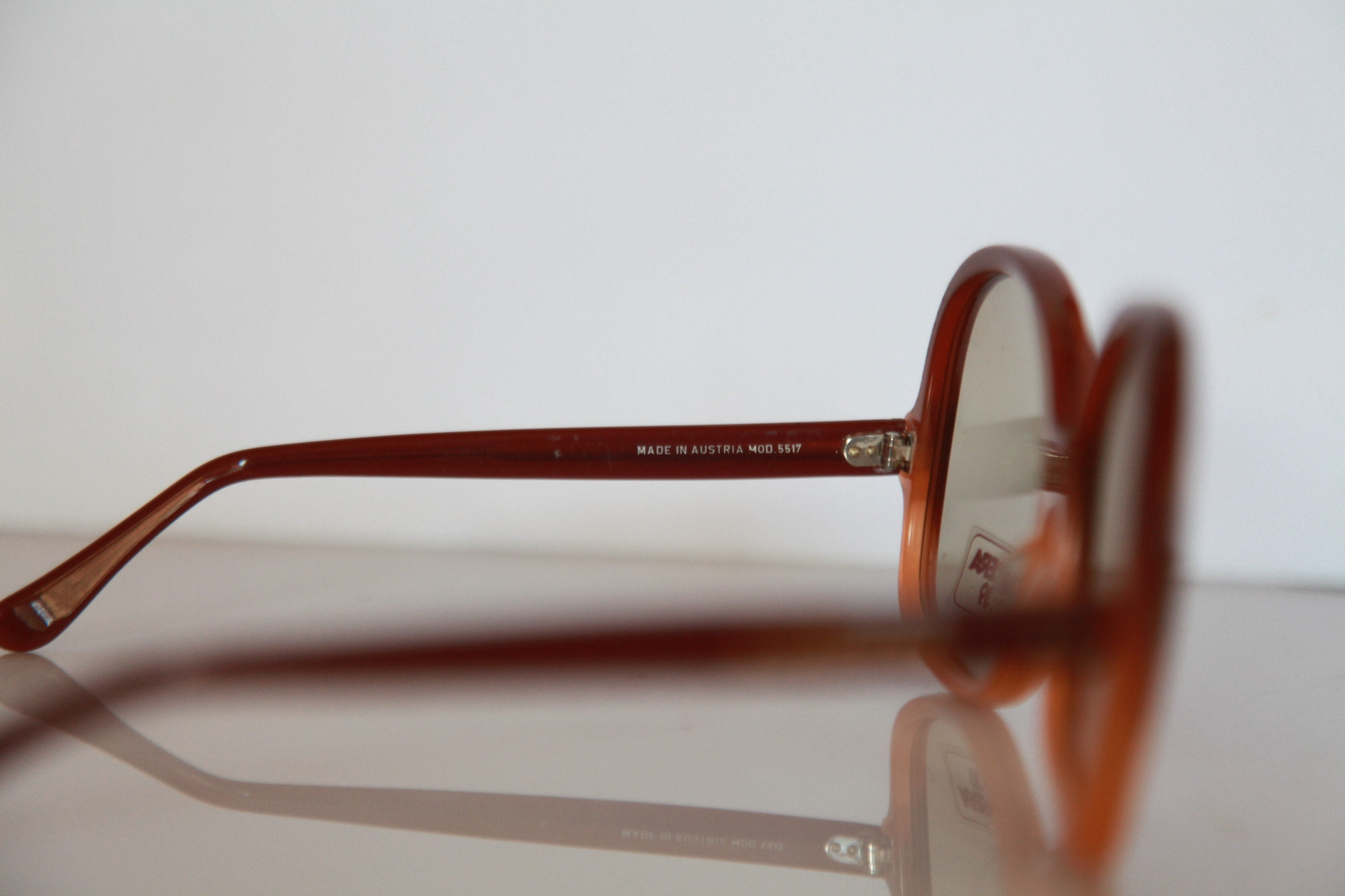 Vintage CARRERA 5517 Top Design Sunglasses Brown Frame