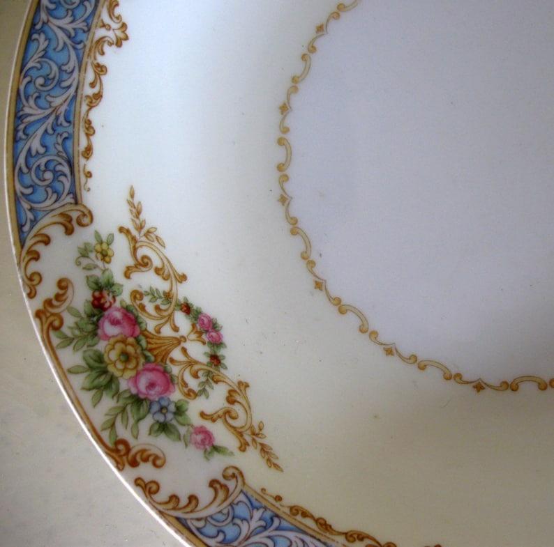 Noritake Chevonia Pattern 8\u201d Soup Cereal Ice Cream Dessert Bowl