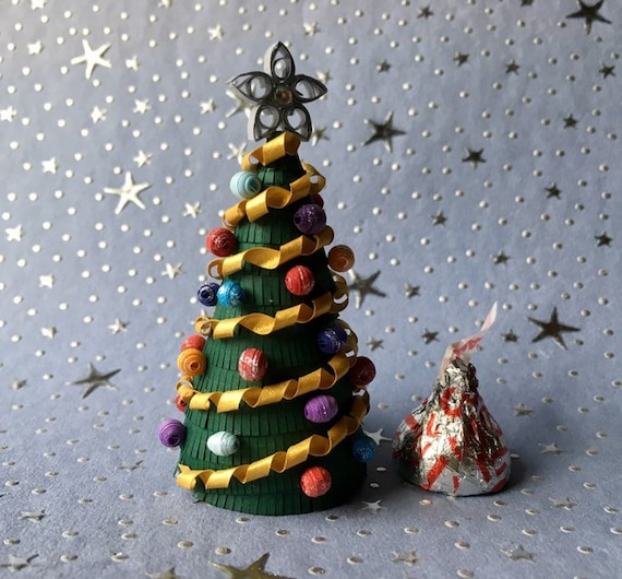 Paper Quilling Christmas Tree Etsy