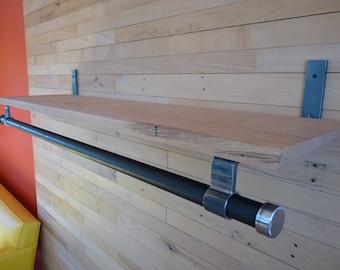 1 Bracket for closet rod/shelf - U series