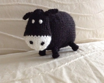 Cow - Knitted Cow - Farm Animals - Stuffed Animal - Stuffed Toy
