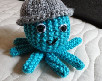Octopus - Knitted Octopus - Octopus Knitted Toy - Stuffed Animal - Stuffed Toy