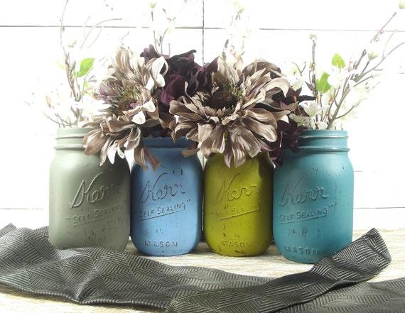 Light Blue Wedding, Mason Jar Wedding, Romantic Wedding, Rustic Wedding,  Wedding Decoration Ideas, Mason Jar Decor, Wedding Decor