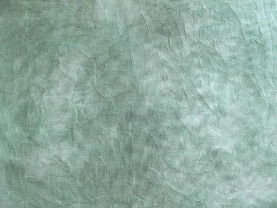 Teinte de tissu vert à la main tissu de pour Cross Stitch, matériel de point de Croix compte 18, tissu de broderie, cadeau pour Cross Stitcher, Notion de couture 0647ec
