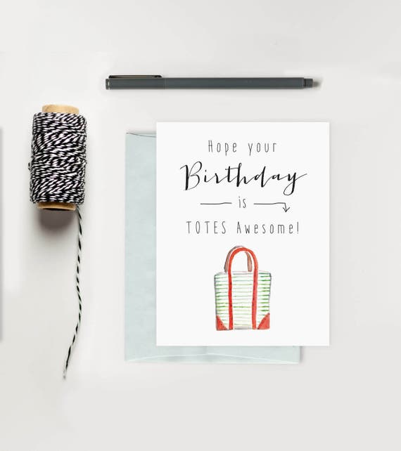 Happy Birthday Card For Her Funny Totes