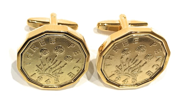 1945 73rd Birthday Farthing coin bracelet charm ready to hang 1945 birthday gift