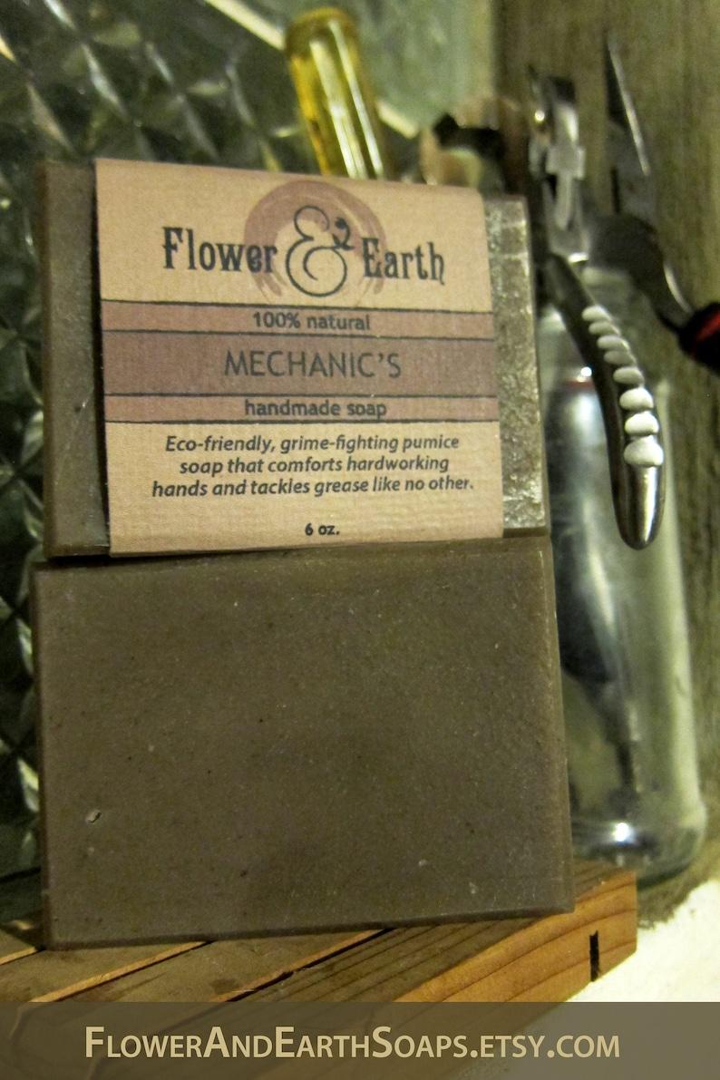 Mechanic's Soap: Natural Pumice Soap for Mechanics. Heavy image 1