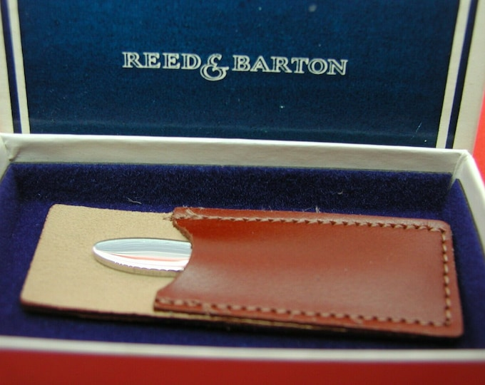Vintage.... Reed & Barton, Sterling Silver Toothpick W/Case...Rare Gift !
