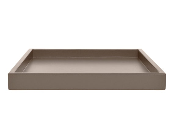 Astonishing Taupe Ottoman Coffee Table Tray Neutral Modern Home Decor Small To Extra Large Square And Rectangular Low Profile Decorative Tray Ocoug Best Dining Table And Chair Ideas Images Ocougorg