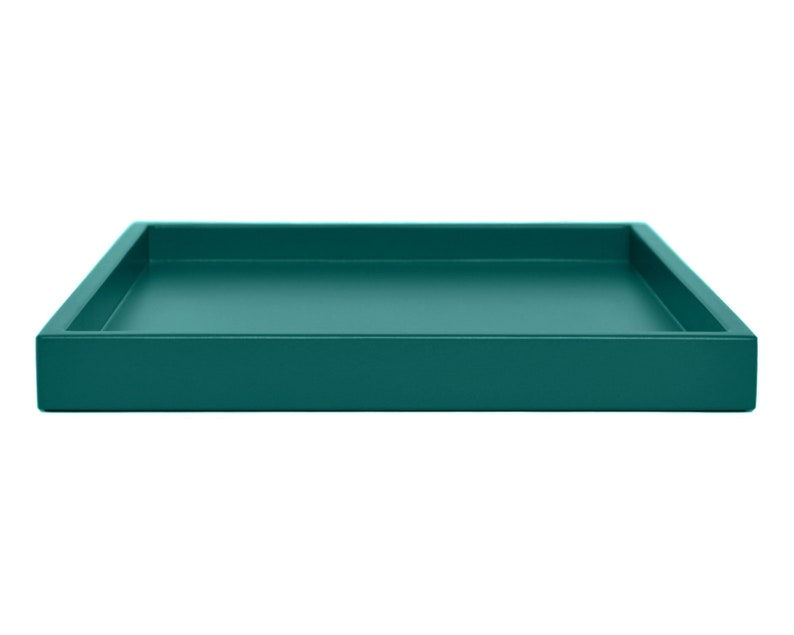 Decorative Tray Coffee Table Teal Home Decor Coffee Table Etsy