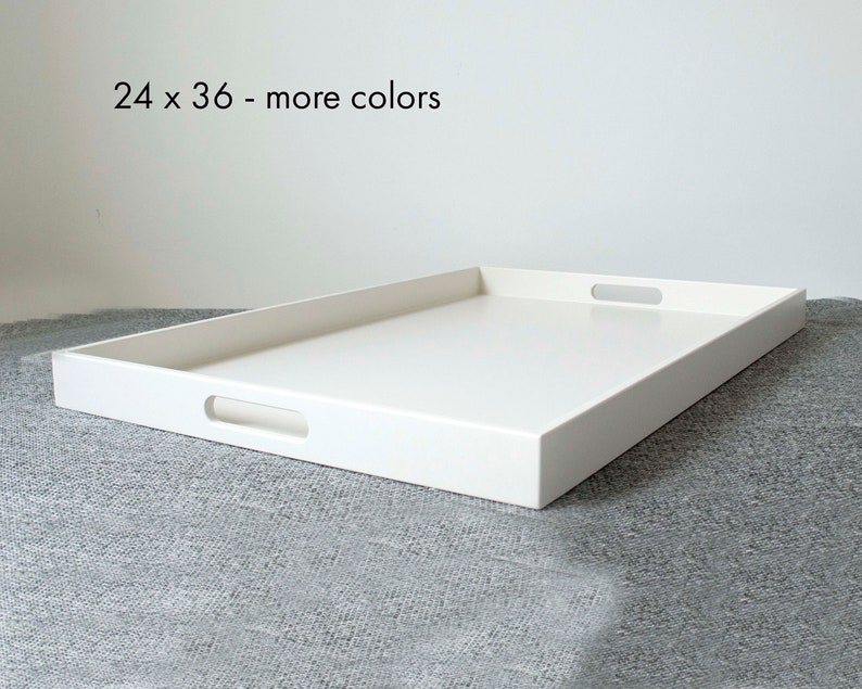 36 X 24 Oversized Ottoman Tray Extra Large Coffee Table Tray Etsy