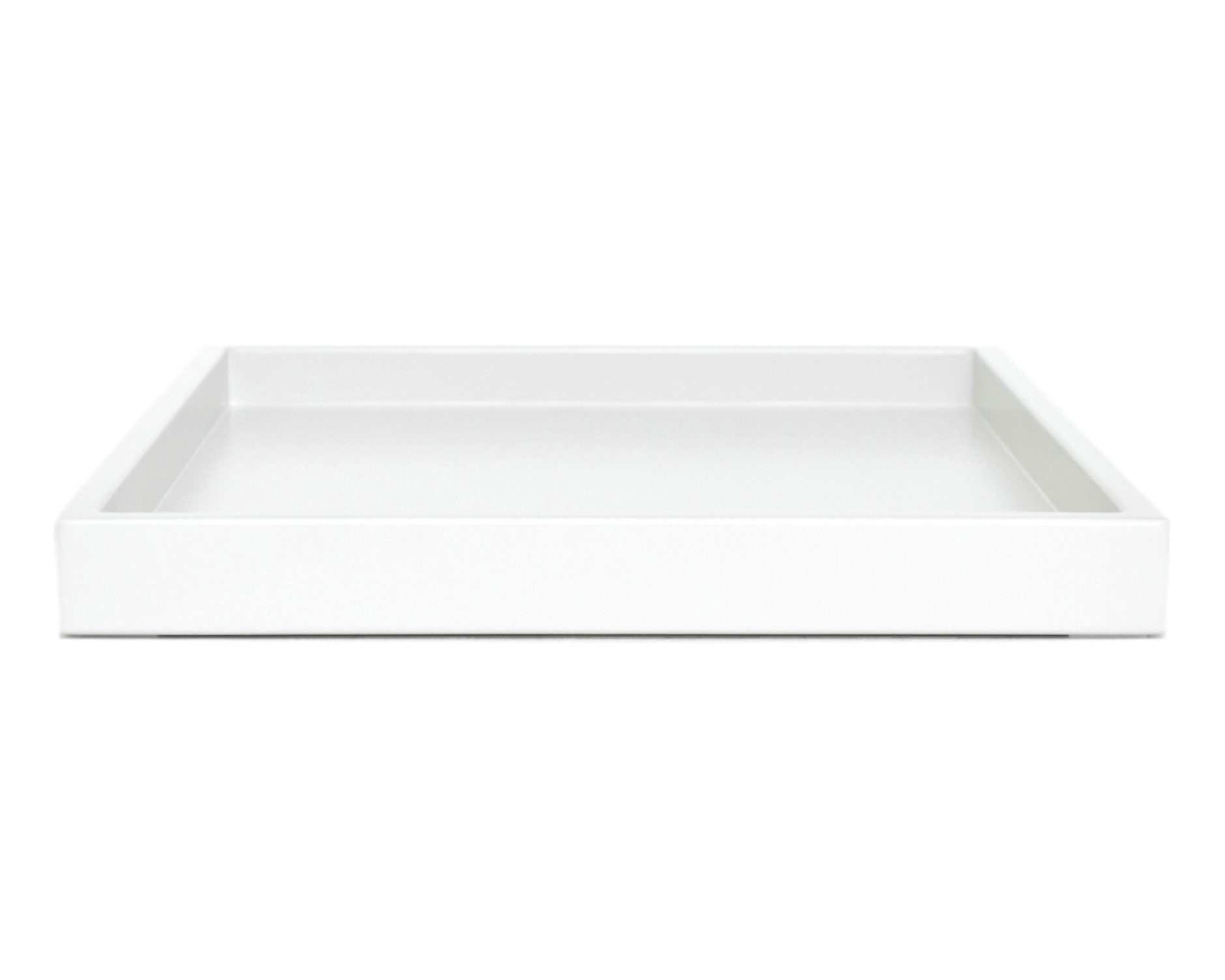 white low profile coffee table ottoman tray small to extra. Black Bedroom Furniture Sets. Home Design Ideas