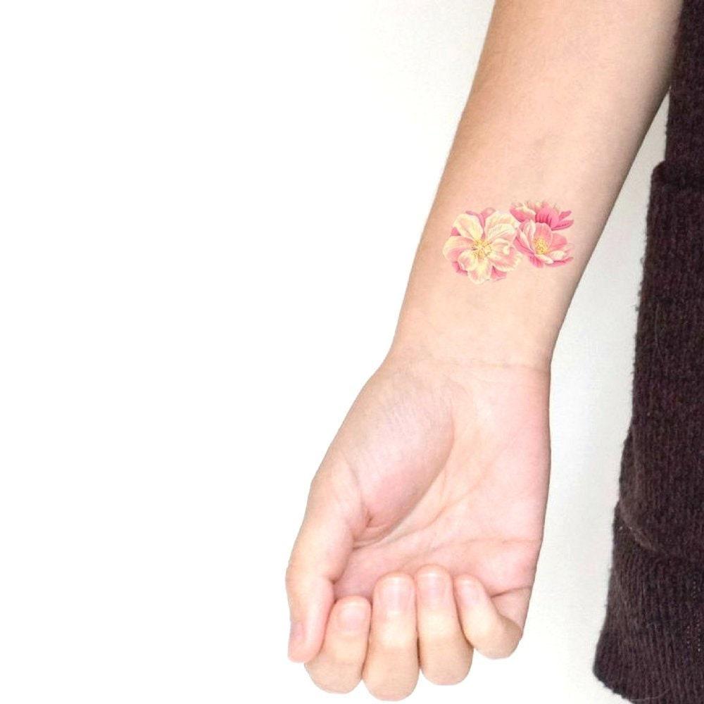 4e95f8505 Cherry blossom temporary tattoo Symbol of Inner Peace / Gift | Etsy