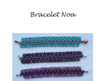 Beading Pattern Bracelet Noa PDF (English)