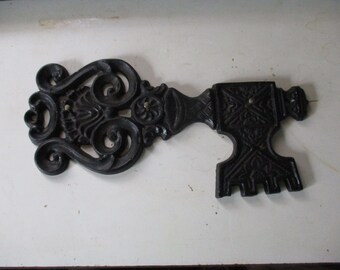 Great Industrial Design Hooks or Coatracks Massive 12 Cast Iron C Clamps Rare Size 10 Lbs Each 20 Overall Length