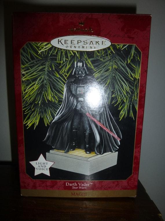 Nib Darth Vader Hallmark Christmas Ornaments Star Wars Etsy