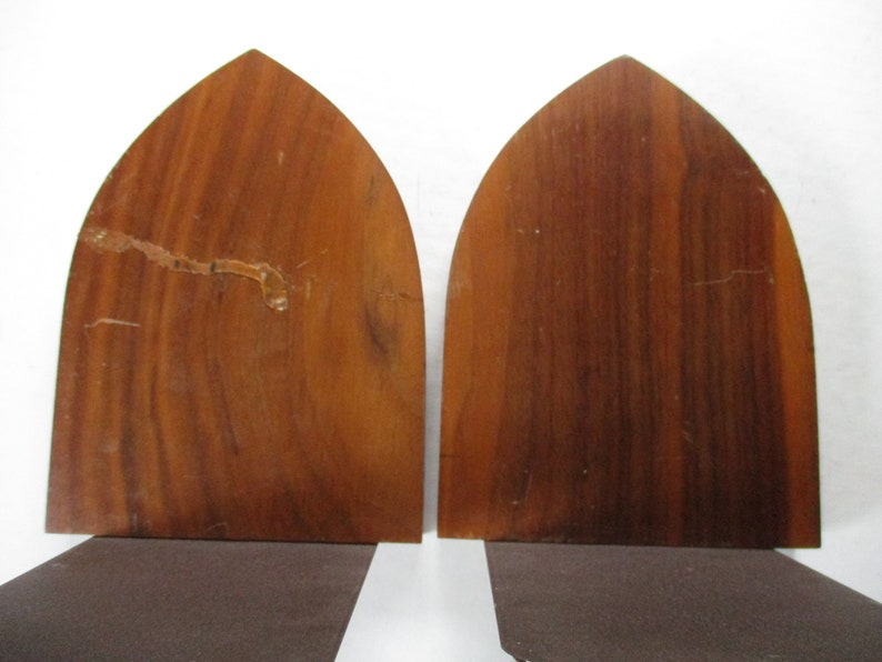 University of Michigan Bookends 7 high x 5 x 5 with 3 logo rare pair of 1960s bookends for home or office
