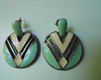 Vintage Earrings 50s Style