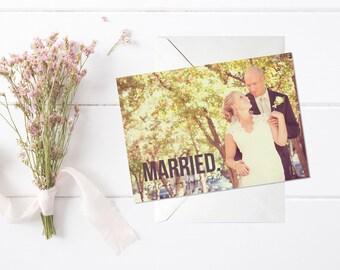 Elopement Announcement, Elopement Invitation, elopement reception, we eloped, lets elope  // 5x7 //  PRINTABLE
