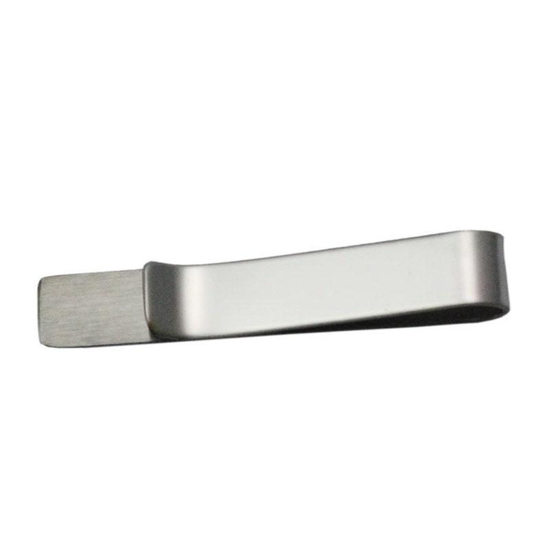 Herrenschmuck Herren Krawattenklammer Tie Silbern Krawattennadel Krawatte Edelstahl Stahl Clip Uhren & Schmuck