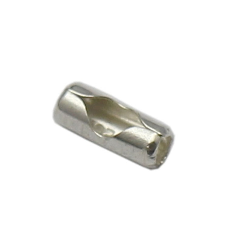 925 Sterling Silver Crimp End Caps For Jewelry Connector Jewelry Making Supplies Wholesale DIY ID37422