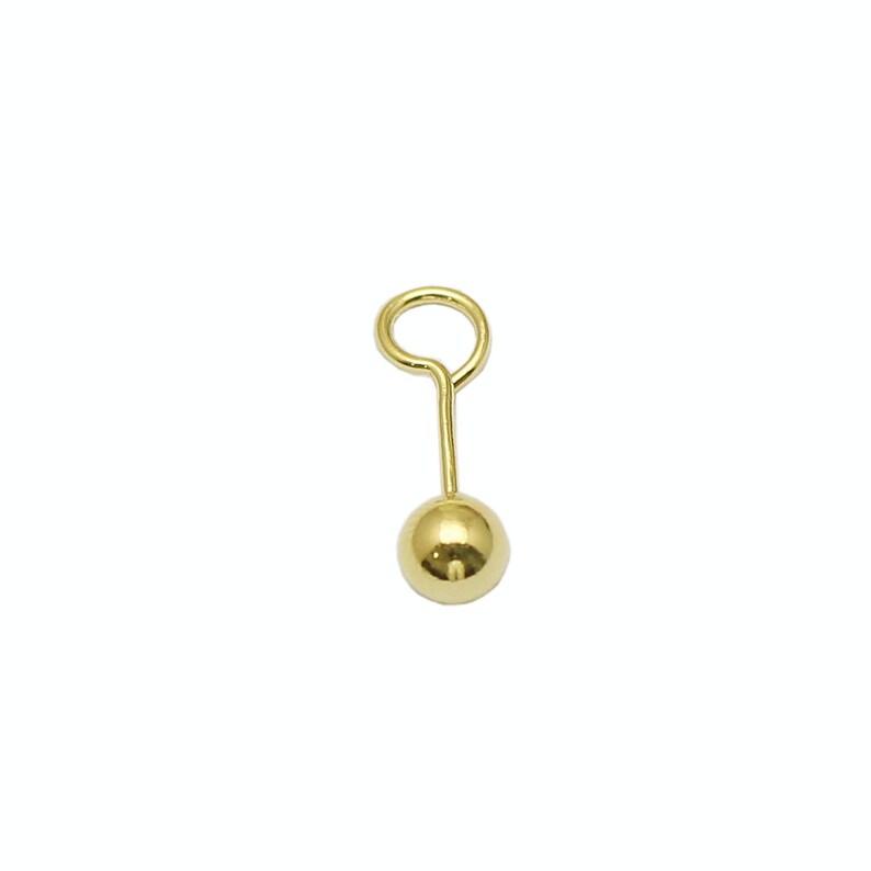 Tiny balls stud earrings 925 Sterling Silver Stud Earring Sets Ball Post Earring Jewelry Wholesale ID37512
