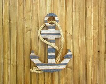Wooden anchor