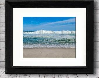 Ortley Beach Waving by Richard Pasquarella