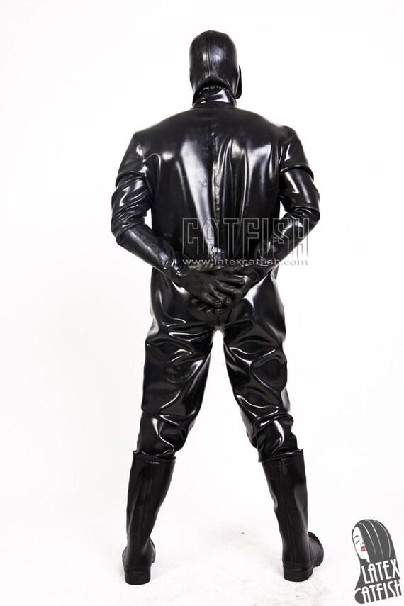 homme des Costume et Latex bottes gaz Roy tailleur avec Ygv7bf6Iy