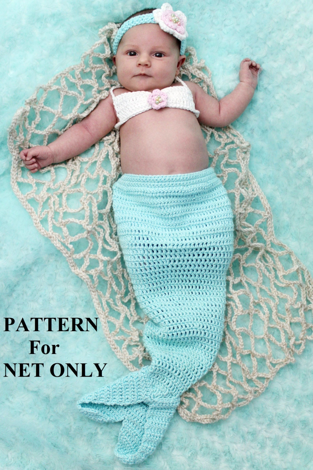Baby Mermaid Crochet Pattern Unique Inspiration Design