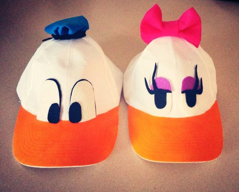 6013f89314f Donald or Daisy Duck Hat