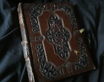 Antique Order of the  Eastern Star 'Personal Portfolio' embossed folder book