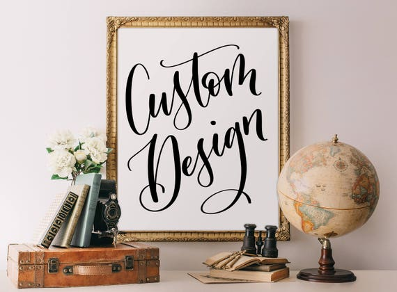 Why Don/'t We Floral Custom Personalized Art Print Poster Wall Decor
