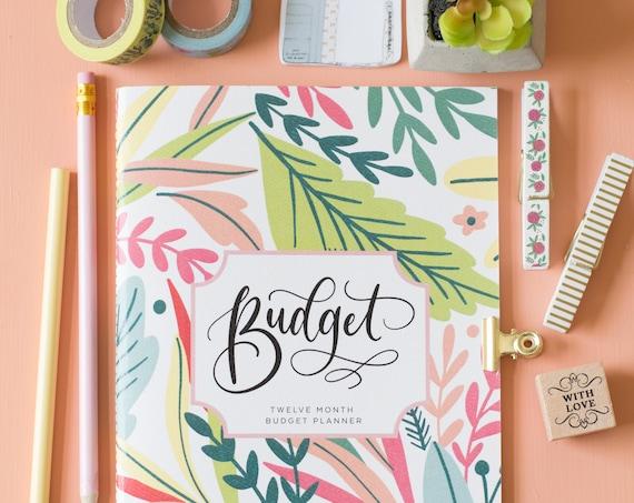 Planer Haushaltsbuch Haushaltsbuch Budget Planer Notebook Etsy
