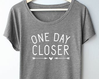 a1df85d2b One Day Closer t-shirt, Military Wife, Girlfriend, Mom, Sister, Deployment  countdown shirt, Red Friday shirt
