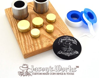 Swedish Wrap Kit for Dollar and Half Dollar Sized Coins and a FREE Holder!