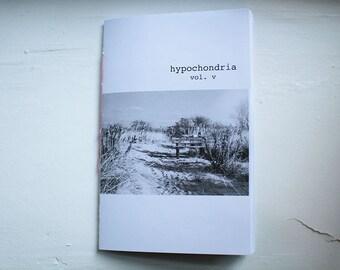 """Hypochondria Vol. V """"Lonely Places"""" - Zine"""