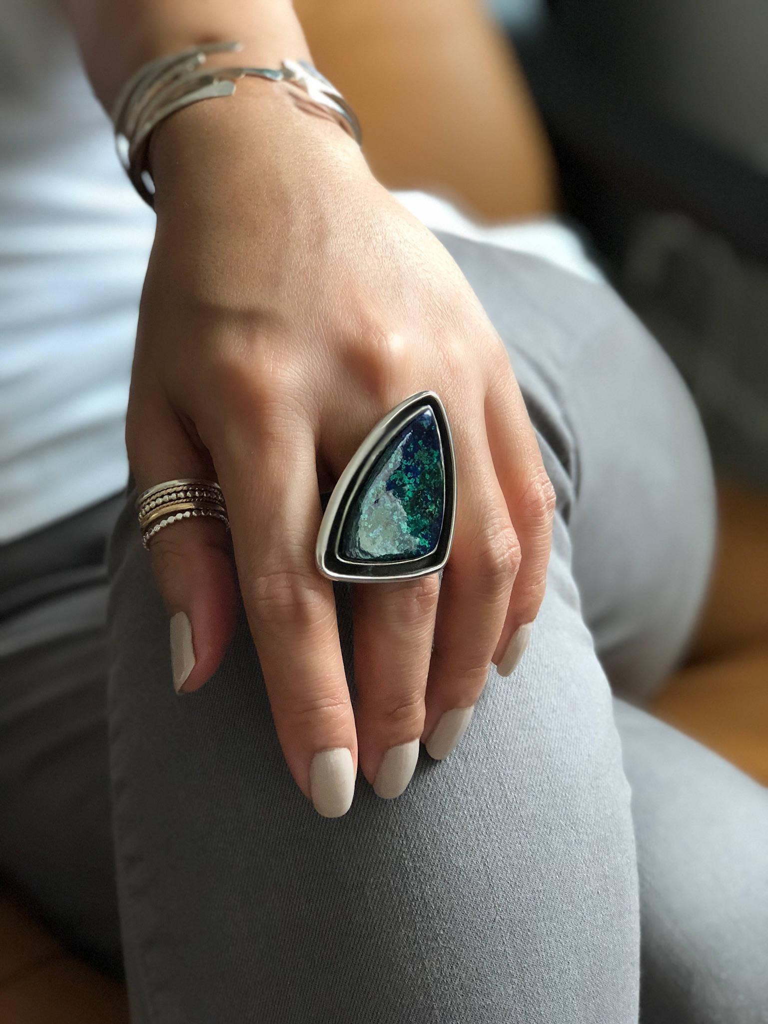 Size 7 Chrysocolla Ring